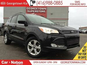2014 Ford Escape SE 4x4| NAVI| BACK UP CAM| HEATED SEATS
