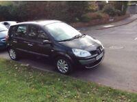 Renault Scenic 2007 Auto 1.6 petrol 7 months mot