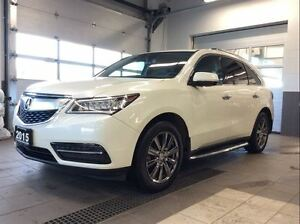 2015 Acura MDX Nav AWD - 19 Chrome Wheels - Running Boards!