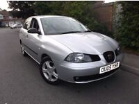 2005 SEAT IBIZA 1.9 TDI S***38K MILLER***5 SPEED GREY ALLOYS AC CD