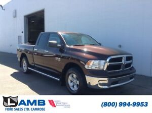 2014 Ram 1500 SLT Quad Cab 4x4 with Remote Start, Touchscreen an