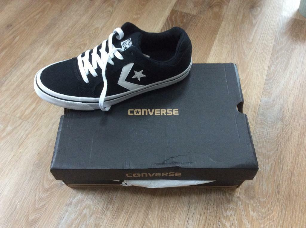 Men's converse trainers