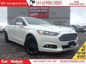 2013 Ford Fusion SE   LEATHER   NAVI   SUNROOF   BACK UP CAM
