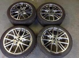 "Mini alloy wheels 17"""