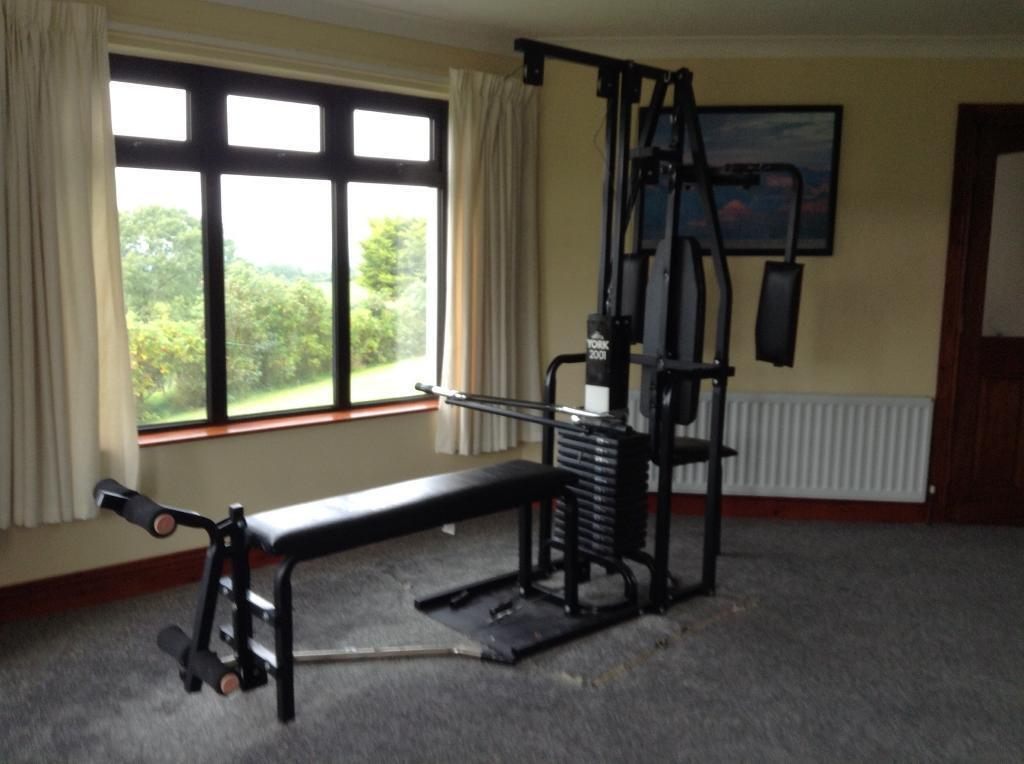 York home gym with pec mate in portglenone county