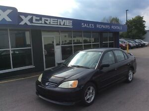 2002 Honda Civic LX-G LOW MILEAGE/CAR-PROOF ATTACHED