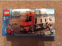 New in box. Lego City Tipper Truck