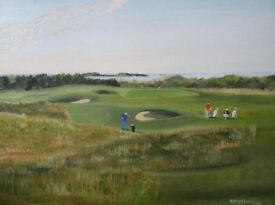 Royal Portrush Golf Club - Approach to the 13th - 'The Skerries'