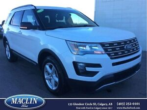 2016 Ford Explorer XLT,Leather Seats, Multi Zone Climate Control