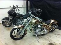 Great looking great riding chopper