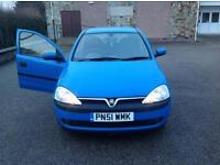 VAUXHALL CORSA ELEGANCE 16V - 5 DR - LOW MILEAGE 50K - SERVICE HISTORY - VERY CLEAN CAR