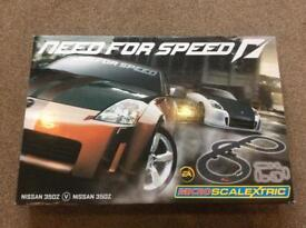 Scalextric need for speed and my sims racing