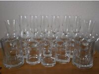 Various Bar Drink Party Glasses Collection Only Great Condition