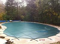 Pool safety Covers with Installation and Closing For Sale