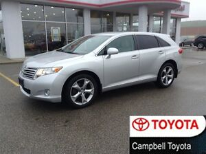 2011 Toyota Venza V6---1 OWNER--- LOCAL TRADE--LOW KM'S
