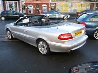 04 VOLVO 2.5 TURBO CONVERTABLE V/CLEAN CAR PRICED £1995