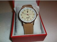 Gent's Swss Emporio Quartz Watch...New and Boxed