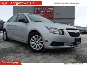 2011 Chevrolet Cruze LS POWER GROUP   TWO TONE SEATING   LOW KMS