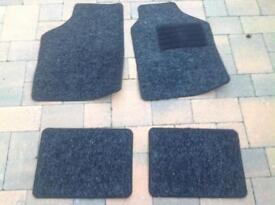 Unused set of car mats