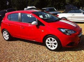Vauxhall Corsa 1.2 Sting 5dr (red) 2015