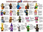 Lego minifiguren The Lego movie 2 (2)
