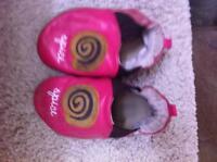 Robeez girl shoes reversible