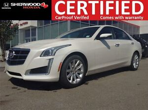 2014 Cadillac CTS 2.0L Turbo Luxury AWD | NAV | LED | BACK C