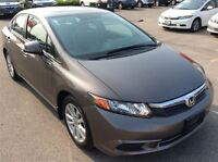 2012 Honda Civic EX-No fanfare: just a reliable vehicle.