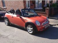 Mini Cooper - Convertible. 12mths MOT, serviced in May. Good condition inside and out.