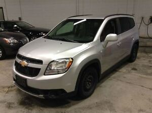 2012 Chevrolet Orlando LT  A/C MAGS 7 PASSAGERS