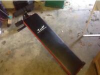 Rowing machine & sit up bench