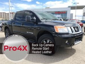 2014 Nissan Titan Pro-4X | Heated Leather | Navigation