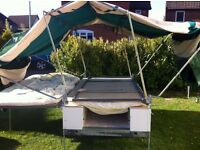 SUNNCAMP 350SE TRAILER TENT AND ALL ACCESSORIES