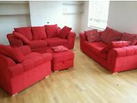 Velvet Sofa Set - Immaculate Condition