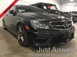 2013 Mercedes-Benz C63 AMG Coupe Premium & AMG Performance Packa
