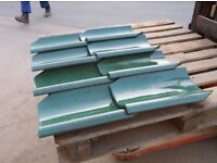 Pan Tiles Green Glazed Clay Roof Tiles