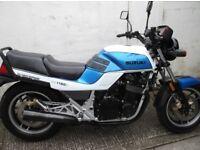 Suzuki GSX1100EFE, very low miles, may consider px either way