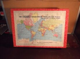 Vintage Old Victory wood jigsaw puzzle complete 600 pieces