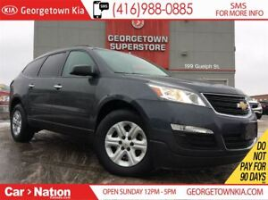 2014 Chevrolet Traverse LS| 8 PASS | BACK UP CAM | AWD | CLEAN C