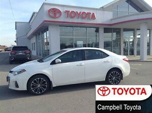 2014 Toyota Corolla S PERFECT BUILD--BLACK LEATHER--NAV--ROOF
