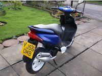 Yamaha Jog R 50cc Moped.