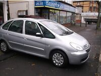 57/08 CITROEN 1.6 PICASSO MPV FULL MOT VERY CLEAN CAR £1295