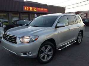2008 Toyota Highlander V6-SPORT-CUIR-7 PASSAGERS-TOIT OUVRANT-