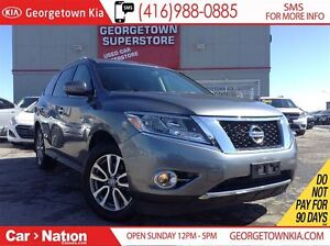 2015 Nissan Pathfinder SV | CLEAN CARPROOF | 4X4 | BACK UP CAM |