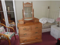 PINE DRESSING TABLE £150 ONO