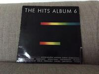 The Hits Album 6 on vinyl