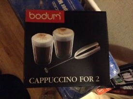 bodum cappuccino for 2 set CH6234