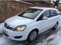 Vauxhall Zafira 1.6 i Excite 5dr p/x considered HPI CLEAR AC ALLOYS AUX 2011 (11 reg),