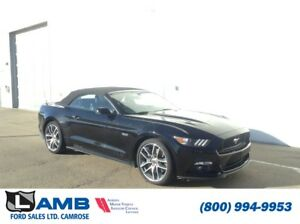 2015 Ford Mustang GT Convertible Premium with Cloth Roof, Naviga