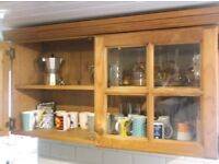 Wall mounted kitchen cabinets